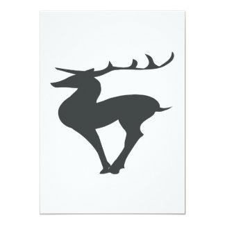 Deer Silhouette Card