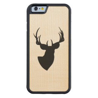 Deer Silhouette Carved® Maple iPhone 6 Bumper