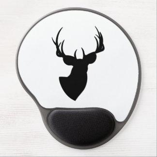 Deer Silhouette Gel Mouse Pad