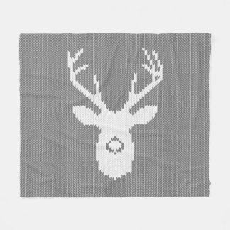Knitting Patterns Christmas Blanket : Knit Fleece Blankets Zazzle