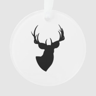 Deer Silhouette Ornament