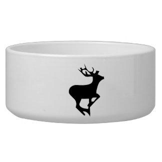 Deer Silhouette Pet Food Bowl
