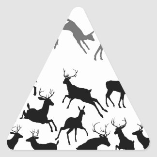 Deer Silhouettes Stickers