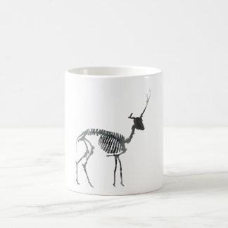 Deer skeleton coffee mug