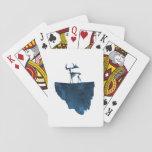 Deer skeleton playing cards