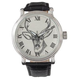 Deer Sketch Watch