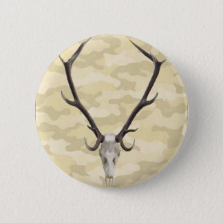Deer Skull Button
