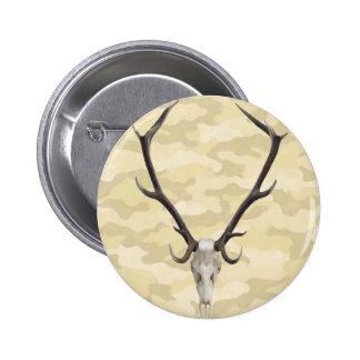 Deer Skull Button