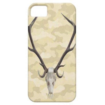 Deer Skull Camouflage iPhone 5G Case