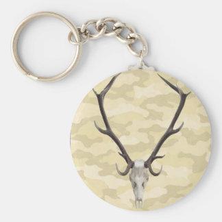 Deer Skull Key Chain