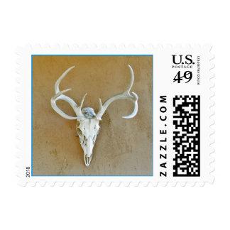 Deer Skull Stamp