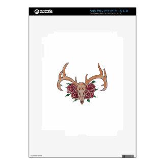 Deer Skull Smaller Skins For iPad 3