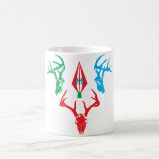 deer skulls coffee mug