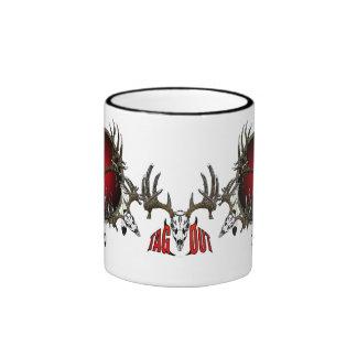 Deer Skulls Ringer Mug