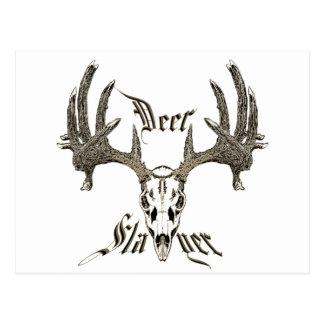 Deer slayer postcard