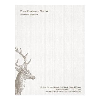 Deer Stag business letterhead