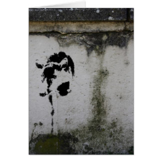 Deer Stencil Card