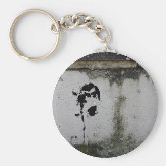 Deer Stencil Keychain