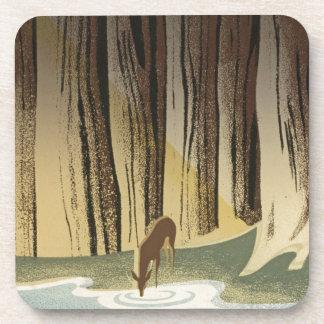 Deer & Stream Coaster
