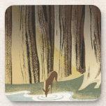 Deer & Stream Drink Coaster