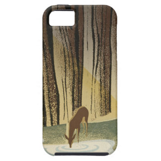 Deer & Stream iPhone 5 Cover