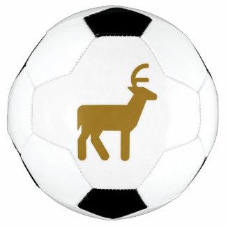 Deer Symbol Soccer Ball