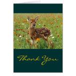 Deer Thank You Cards