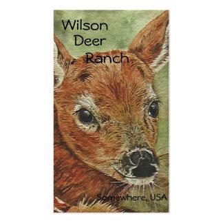 Deer Themed Business Card Template