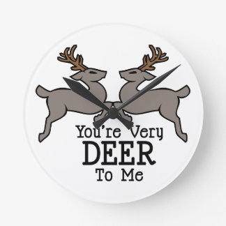 Deer To Me Clocks