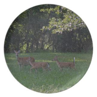 Deer Trio Party Plates