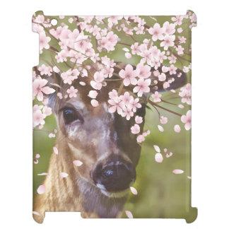 Deer Under Cherry Tree iPad Cases