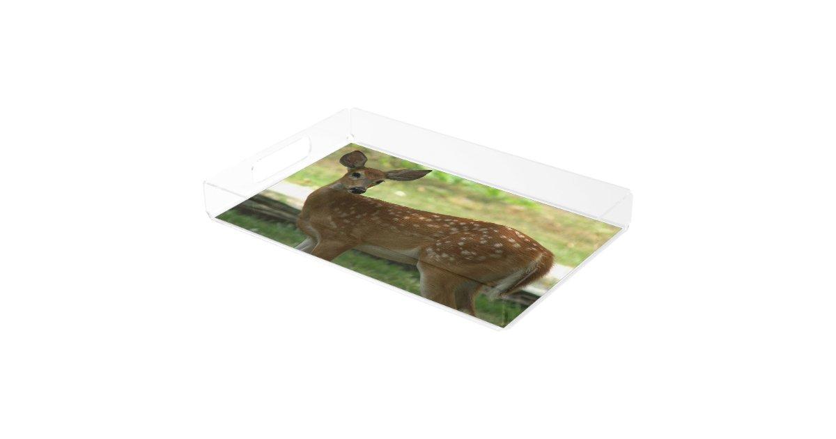 Deer Vanity Tray Serving Tray Zazzle