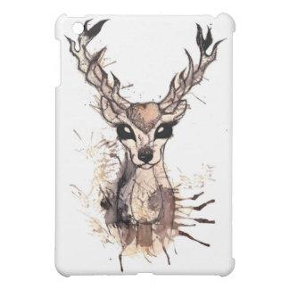 Deer w/ Splattered Paint Case For The iPad Mini