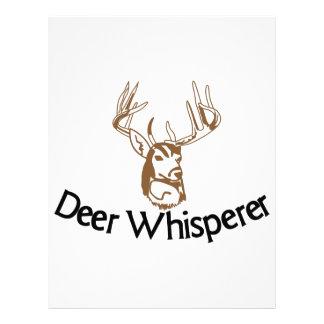 Deer Whisperer Letterhead