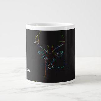 Deer - Wild feeling Giant Coffee Mug