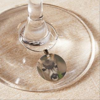 deer wine charm