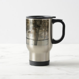 Deer Winter Comfort* The Dear Visitor ~ Travel Mug