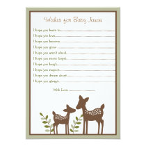 Deer Wishes for Baby Cards