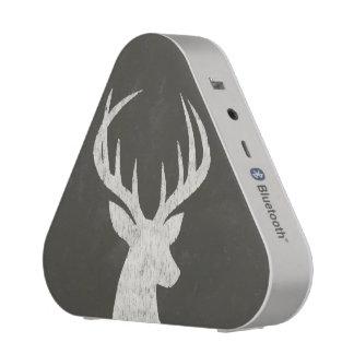 Deer With Antlers Chalk Drawing Bluetooth Speaker