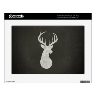 Deer With Antlers Chalk Drawing Skins For Netbooks