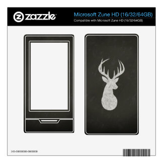 Deer With Antlers Chalk Drawing Skins For The Zune HD