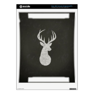 Deer With Antlers Chalk Drawing Decals For Xbox 360