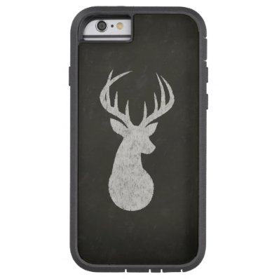 Deer With Antlers Chalk Drawing Tough Xtreme iPhone 6 Case