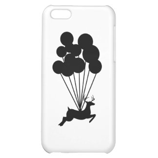 Deer with Balloons Case For iPhone 5C