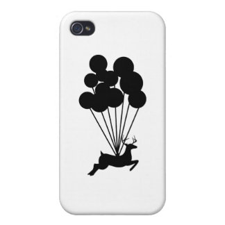Deer with Balloons iPhone 4/4S Case