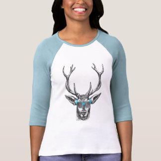 Deer with Blue Sunglasses Tshirt