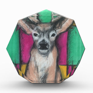 Deer with Geometric Background Awards