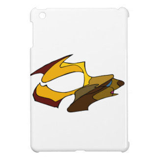 Deer with golden antlers cover for the iPad mini