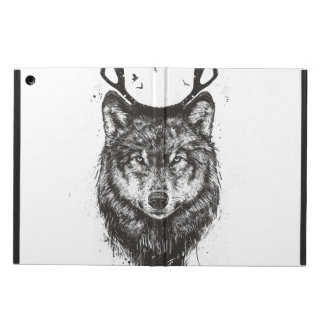 Deer wolf (black and white) cover for iPad air