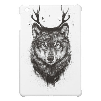 Deer wolf (black and white) iPad mini covers